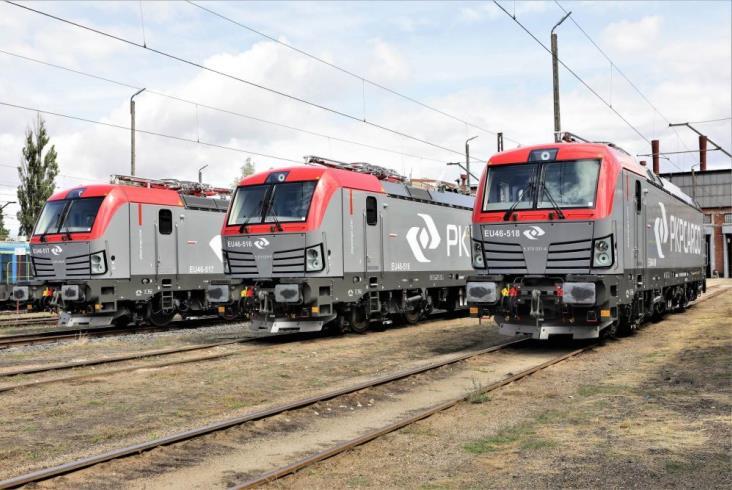 PKP CARGO z trzema nowymi lokomotywami Vectron