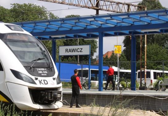 W Rawiczu jest nowy peron, będą windy