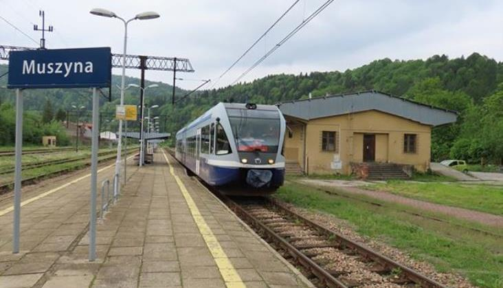 Dobra frekwencja w pociągach z Muszyny na Słowację