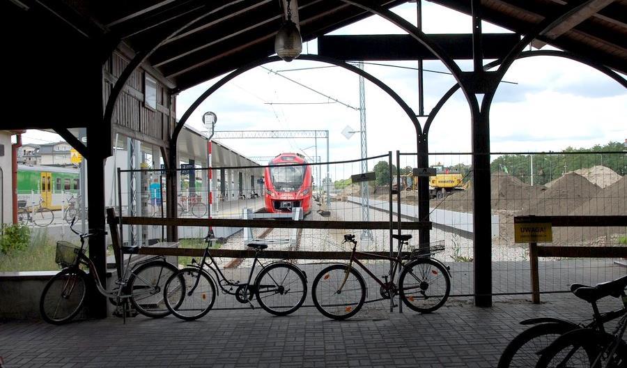 PLK i resort infrastruktury prezentują stację Otwock w trakcie modernizacji [zdjęcia]