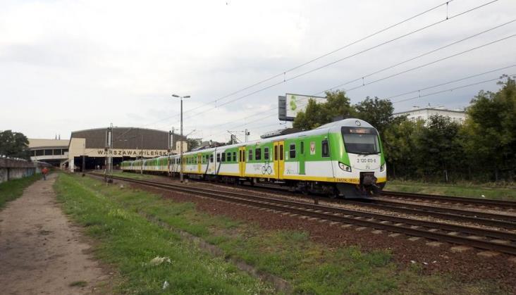 Koleje Mazowieckie: 3,5 miliona pociągów w ciągu 15 lat