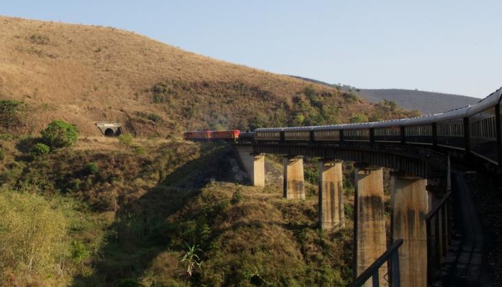 Luksusowy pociąg przejechał przez Afrykę ze wschodu na zachód