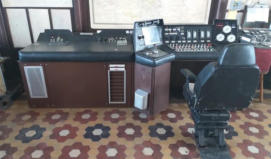 Ze skasowanego ED73 ocalono pulpit maszynisty [zdjęcia]