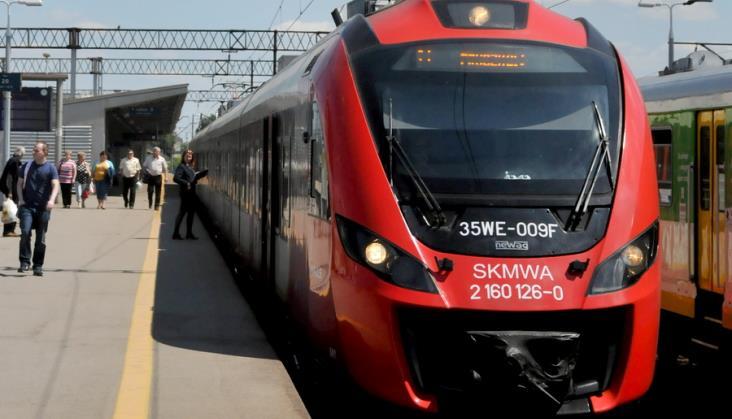 PKP PLK tłumaczy jakie prace wykona na warszawskiej średnicy