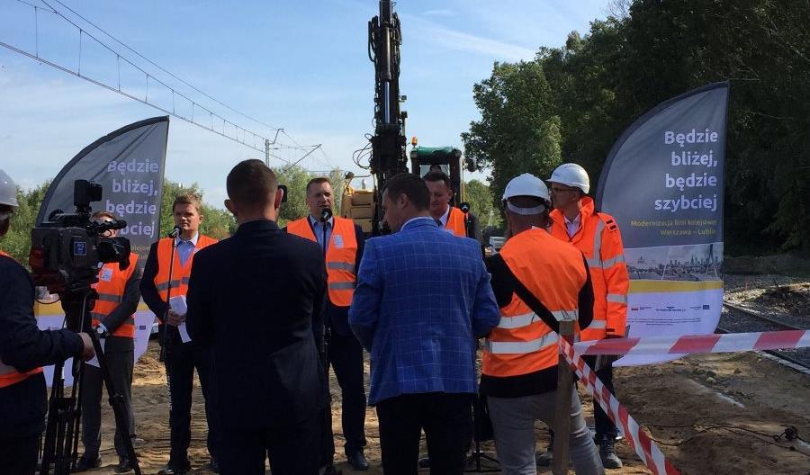 PLK: Nowy przystanek Lublin Zachodni przybliży kolej mieszkańcom