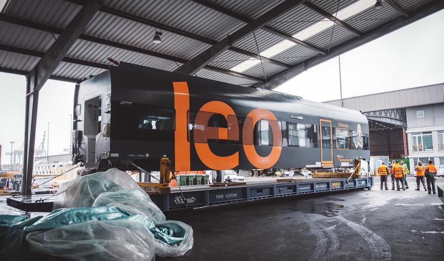 Sirius od CRRC dla Leo Express dotarł do Czech [zdjęcia,wideo]