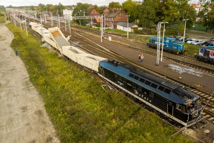 Wykolejenie na trasie Wrocław – Legnica [aktualizacja]