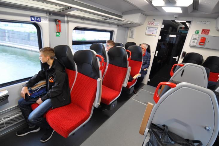 Pierwszy Elf2 dla Kolei Wielkopolskich pojechał w trasę z pasażerami [zdjęcia] [relacja]