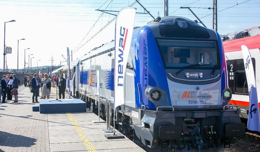PKP Intercity zakupi dodatkowo 10 nowych lokomotyw od Newagu