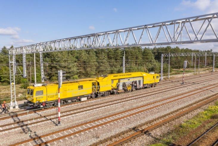 Budimex kończy prace na jednym z torów linii 7 (zdjęcia)