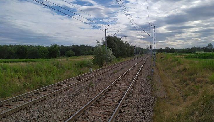 Powalone drzewa zatarasowały tory pomiędzy Wrocławiem a Legnicą [aktualizacja]