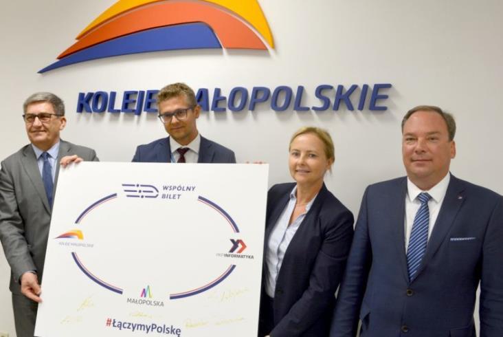 Bilety Kolei Małopolskich w Bilkomie