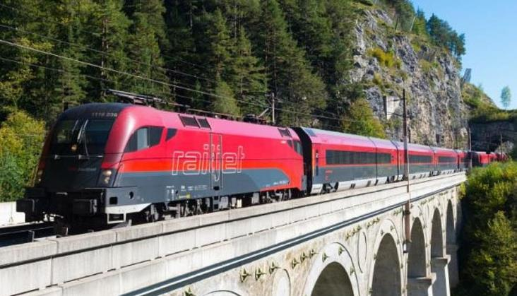 Wiosną wystartuje nowe połączenie Railjet Berlin – Praga – Wiedeń – Graz