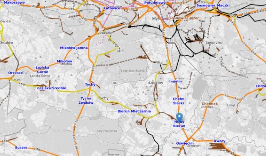 Przetarg na przygotowanie rewitalizacji linii Tychy – Bieruń – Oświęcim unieważniony [aktualizacja]