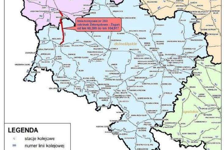 Jest przetarg na odbudowę linii nr 283 Zebrzydowa – Żagań