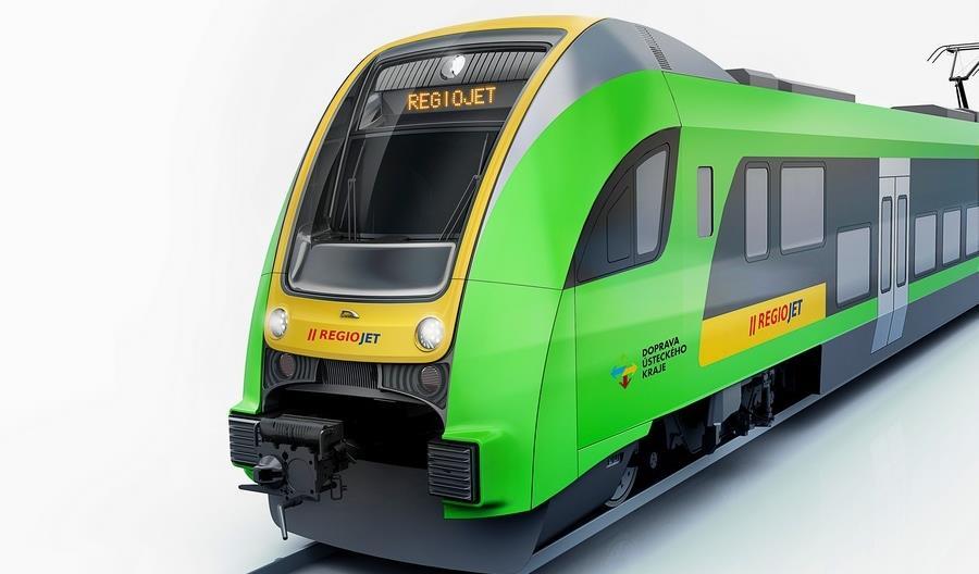 Elf.eu dla RegioJet zmieni nie tylko barwy. Nowy jest też design pojazdu