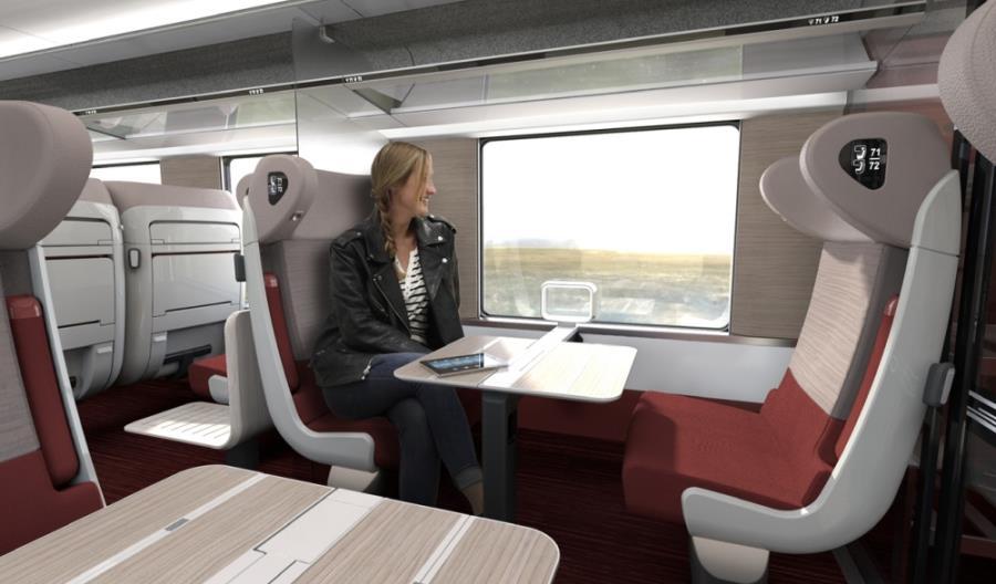 CAF zgarnia zamówienie od francuskiego SNCF [wizualizacje]