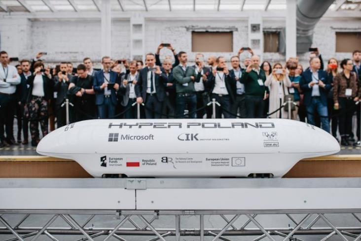 Hyper Poland zaprezentował przejazd modelu Magraila