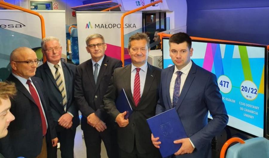 Pesa z umową na dostawę nowych pociągów dla Małopolski