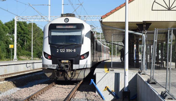 14 par pociągów między Słupskiem a Ustką już najbliższej zimy