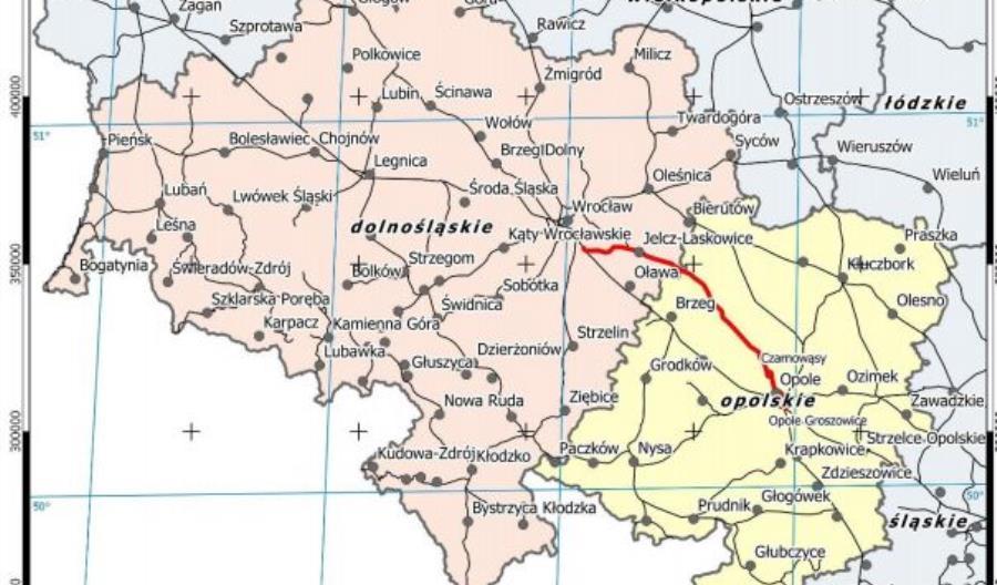 Projekt modernizacji CE30 Wrocław-Opole od nowa. Musi być zgodny z CPK