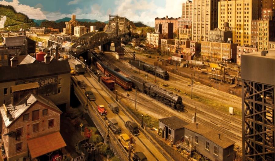 Rod Stewart pokazał kolejową makietę. Pracował nad nią ponad 20 lat! (zdjęcia)