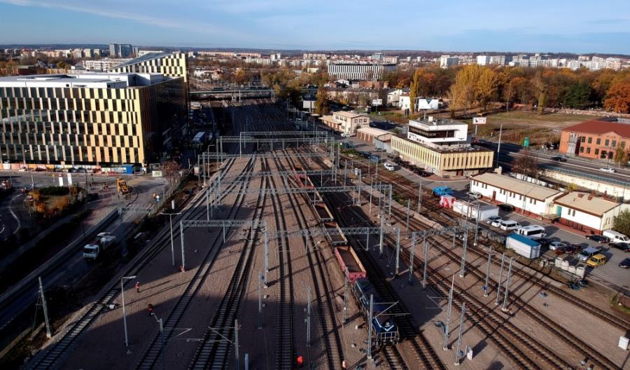 PLK uruchomi nowy system sterowania ruchem na stacji Kraków Główny. Będą zmiany w rozkładzie
