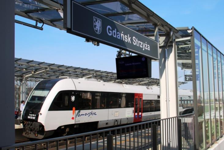 W październiku z linii Pomorskiej Kolei Metropolitalnej skorzystało ponad 400 tys. pasażerów