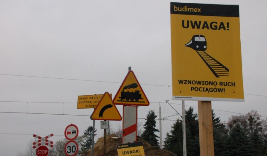 Trwają prace na linii nr 7 między Puławami a Lublinem