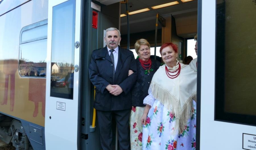 Koleje Śląskie zawitały do województwa opolskiego [zdjęcia]
