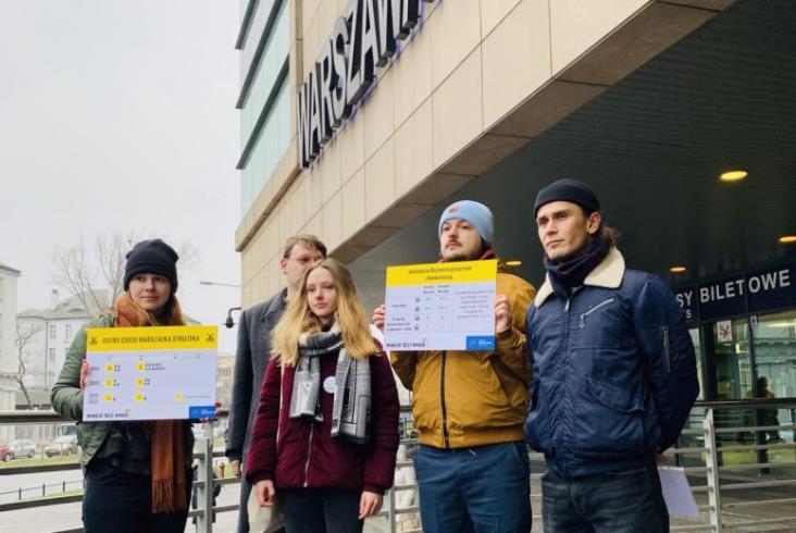 Społecznicy apelują o lepszą ofertę kolei na Mazowszu