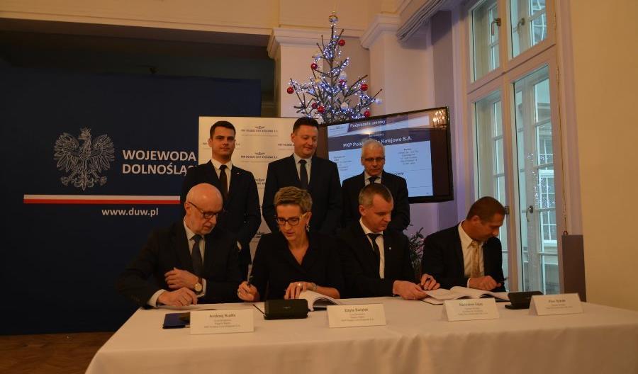 Jest umowa na przebudowę stacji Ścinawka Średnia