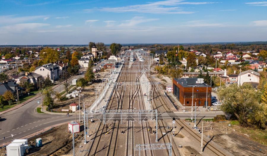 Budimex pokazuje zakres wykonanych prac na linii Warszawa – Lublin [zdjęcia]