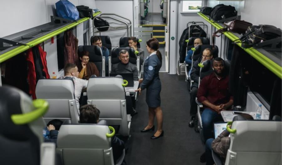 Pesa 760M już z pasażerami na Białorusi [zdjęcia]