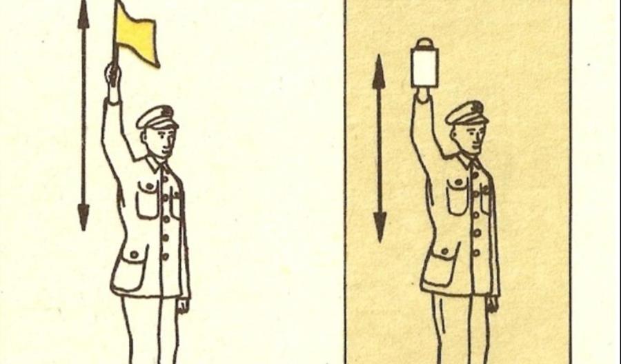 Historia kolei. O tym, jak wiatr zmian przyniósł zmianę czerwonych chorągiewek na żółte