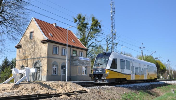 Koniec prac na linii Wrocław Sołtysowice – Jelcz Miłoszyce w połowie 2021 roku