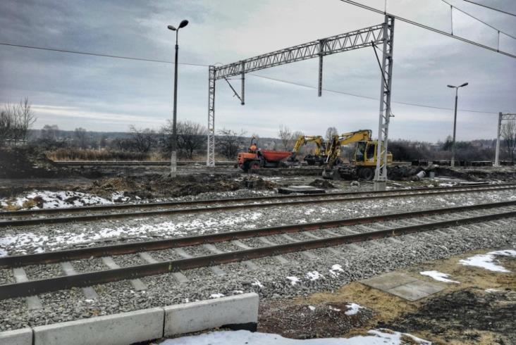 Przebudowa stacji Sławków na półmetku