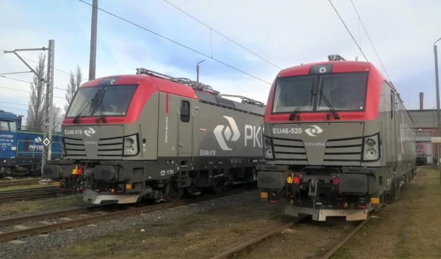 PKP Cargo z kompletem 20 Vectronów