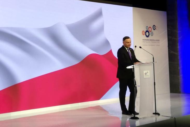 Prezydent Duda otworzył Kongres Rozwoju Kolei