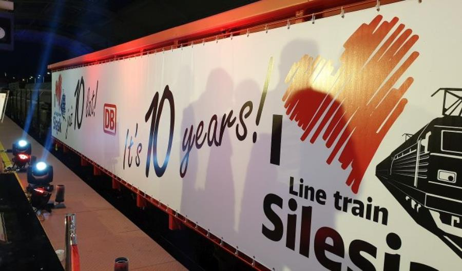 Dziesięć lat od uruchomienia pociągu liniowego Silesia w europejskiej sieci kolejowej DB Cargo