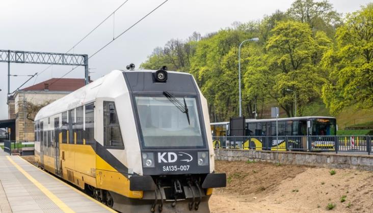 Kąty Wrocławskie dofinansują dodatkowe połączenia Kolei Dolnośląskich