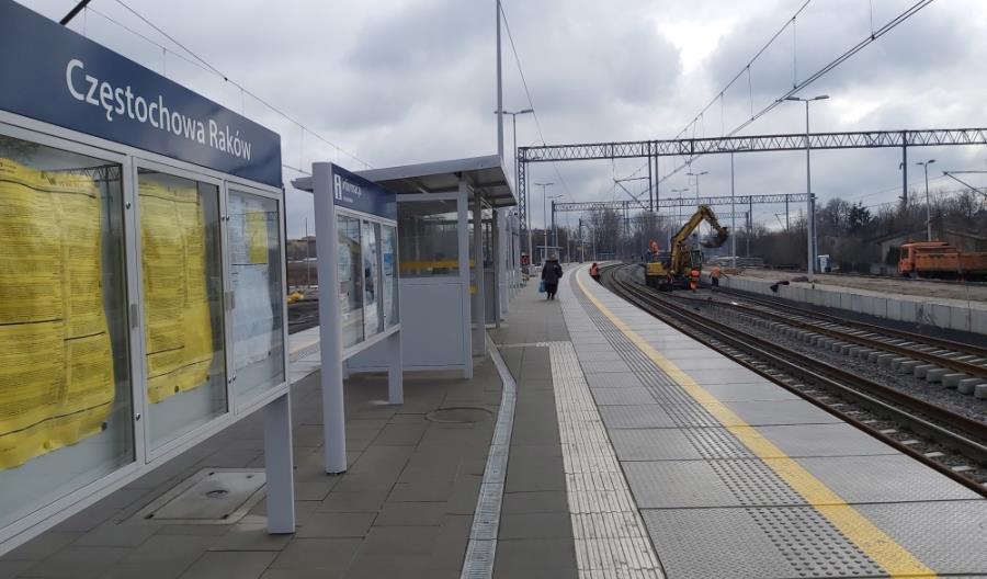 Trwa przebudowa linii z Częstochowy do Zawiercia