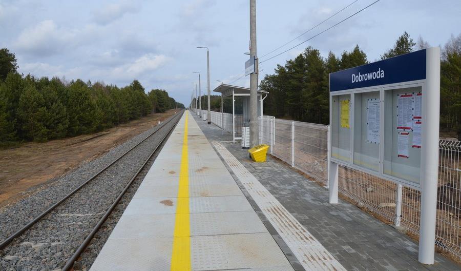 Nowe perony na linii Hajnówka – Czeremcha [zdjęcia]