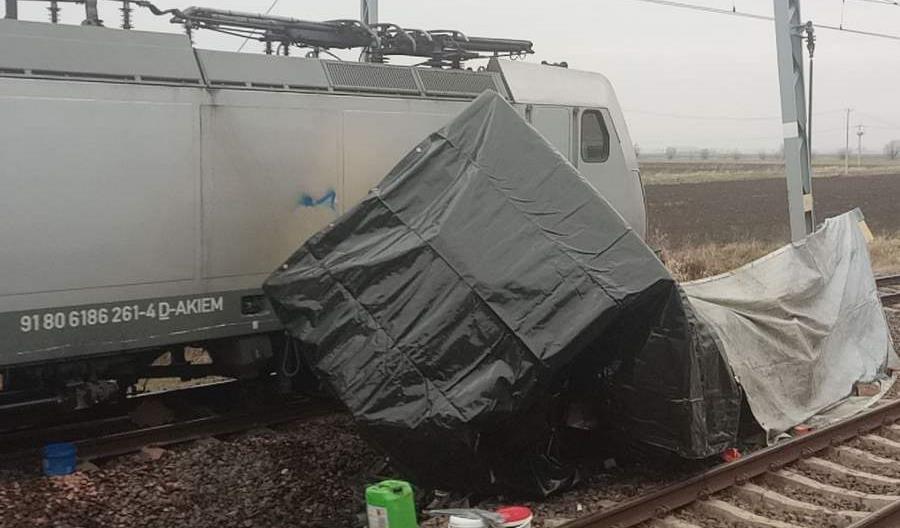 Tragedia pod Szymankowem. Nie żyją pracownicy z drezyny PLK [zdjęcia]
