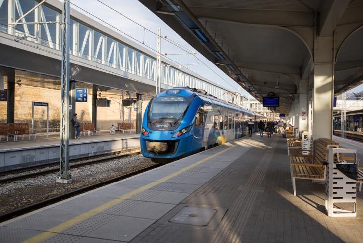 Szczecin Główny: Peron nr 4 otwarty