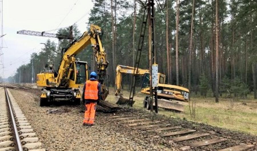 Trwają prace na kolejowej obwodnicy Bydgoszczy