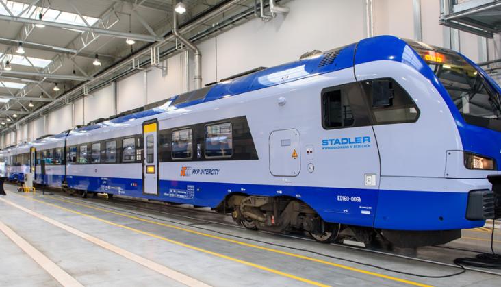 Przekształtniki ABB w nowych Flirtach dla PKP Intercity