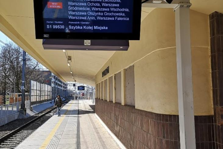 W kwietniu koniec testów informacji pasażerskiej na linii 447 Grodzisk Mazowiecki – Warszawa