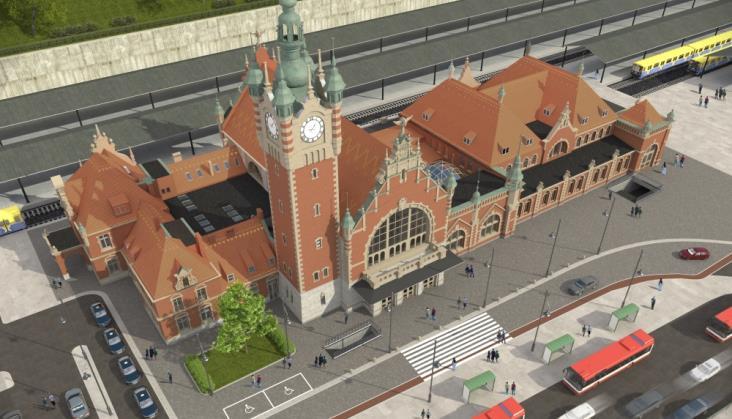 Gdańsk Główny: Prace idą zgodnie z harmonogramem