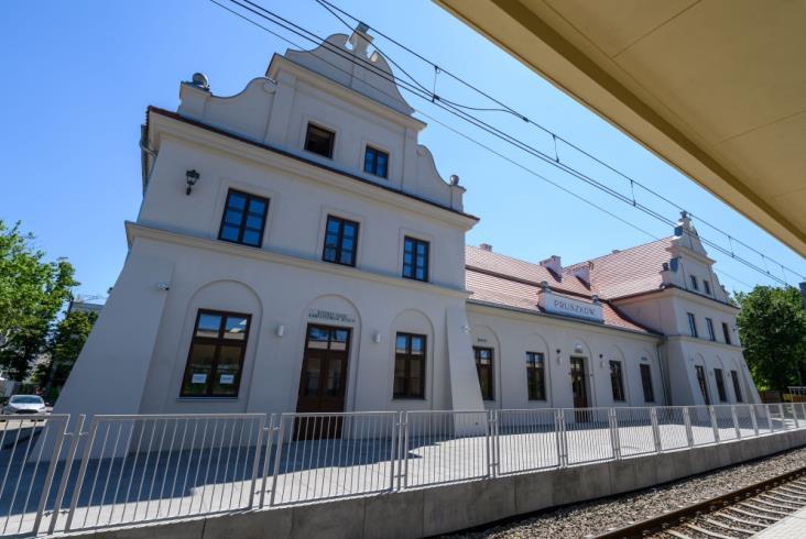 Pruszków: Przykład udanej modernizacji zabytkowego dworca